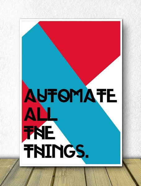 Automate All The Things - Poster