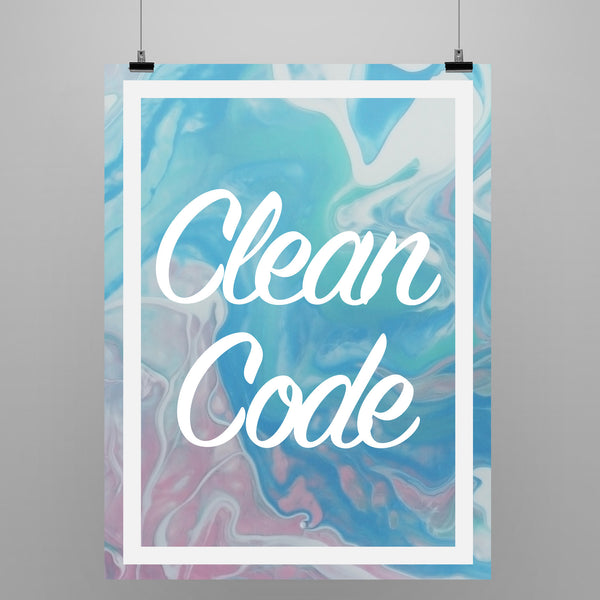Keep Your Code Clean - Poster