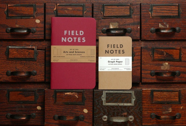 Field Notes - Arts and Sciences