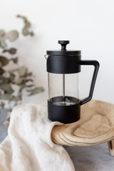 BREW Coffee Plunger - 350ml Black by First Batch Coffee