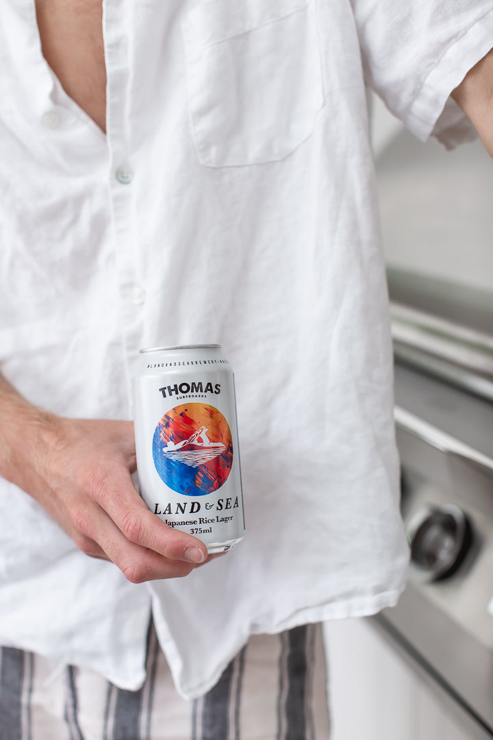 Land & Sea Japanese Rice Lager | Gift Boxes for him by Noosa gift Co.