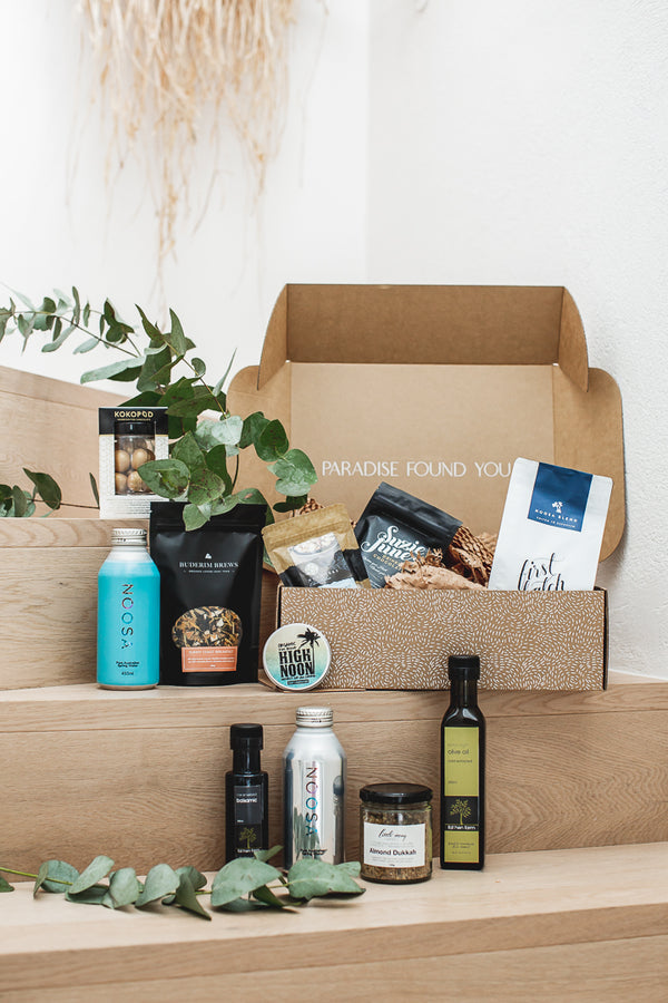 Noosa Sunrise Gift Box | Noosa Holiday Vacationer Gift Boxes by Noosa Gift Co.