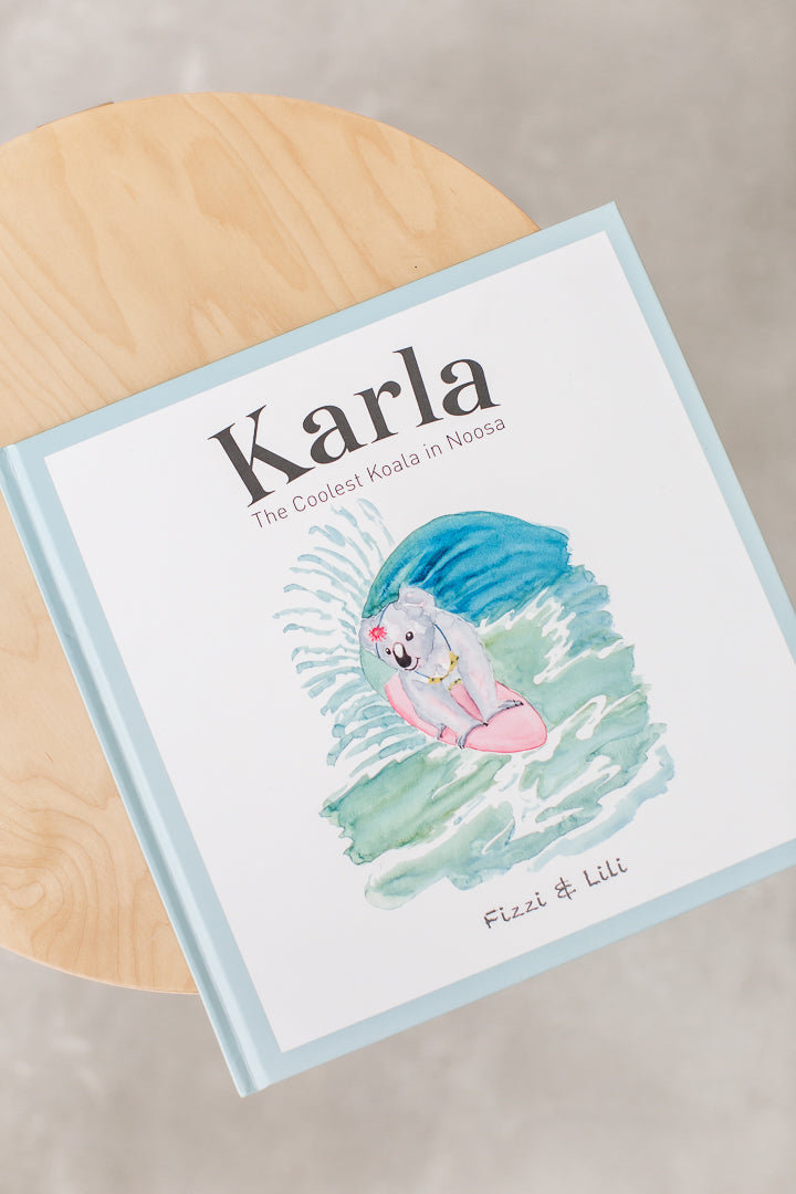 Karla the Coolest Koala in Noosa | Baby Gift Hamper Noosa Gift Co.