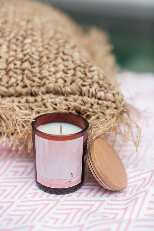 Georgie - Coconut & Lemongrass Candle (Large) by True North Candle Collective | Noosa Gift Co. Gift Boxes for her