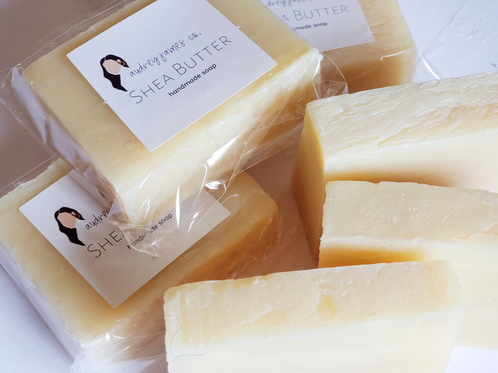 Shea Butter Unscented Natural Soap