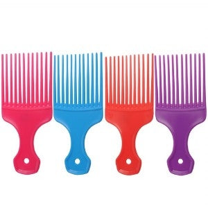 Salon Smart Afro Comb Ass Cols