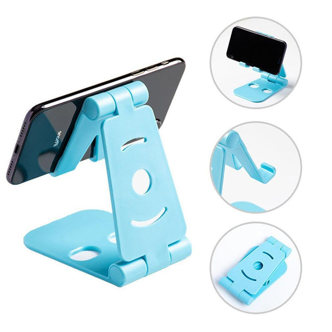 Adjustable Mobile Phone Holder For iPhone Huawei Xiaomi Plastic Phone Stand Desk Tablet