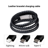 Bracelet Charger Cable Type-C USB Data Charging Cord for IPhone Android Phone Cable