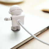 Flexible Spaceman USB Tube LED Night Light Lamp Computer Laptop PC Reading