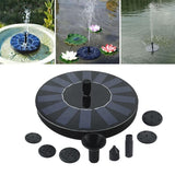 Solar Fountain Watering kit Power Solar Pump Pool Pond Submersible  Panel Water Fountain For Garden