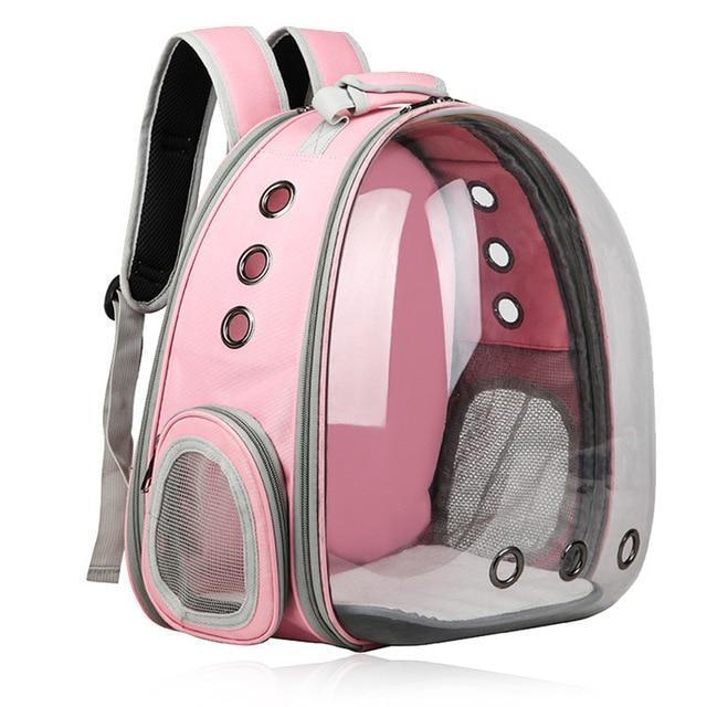 Pet Backpack Small Dog Carrying Cage Outdoor Travel Comfortable Breathable