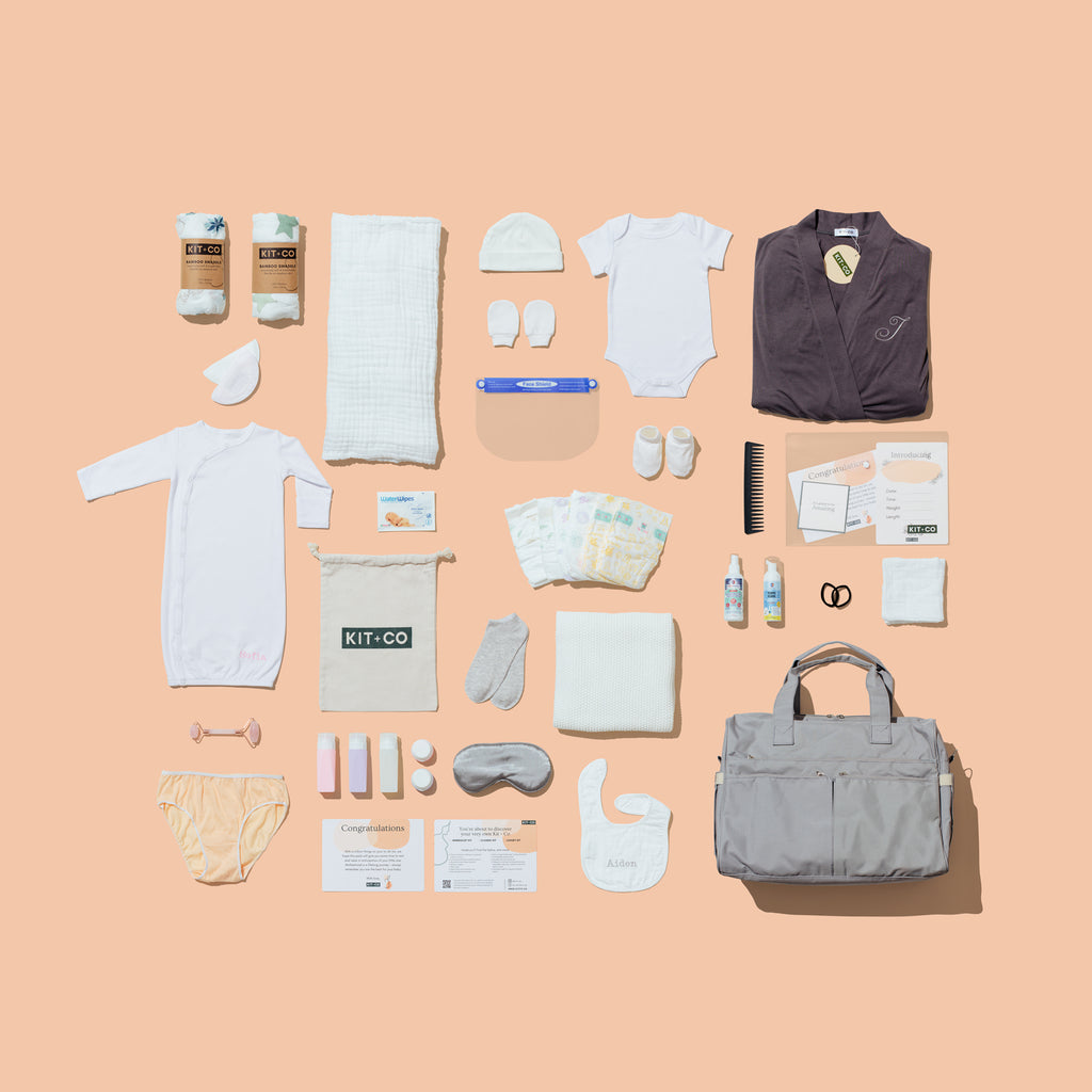 Why buy KIT+CO's pre-packed hospital bag?
