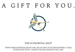 The Sccisortail Shop Giftcard