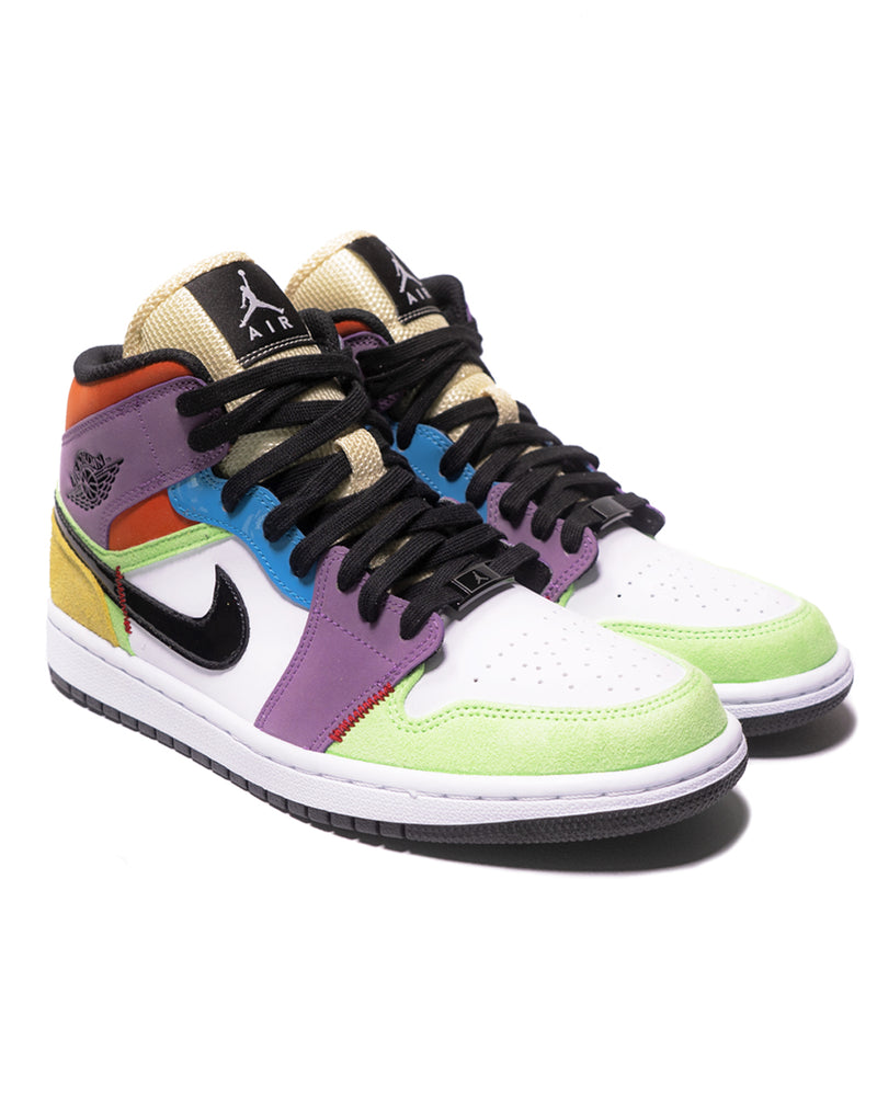 "Sneakers Air Jordan 1 Mid  ""Multicolor"" (W) Para mujer"