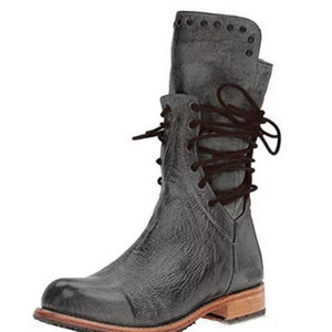 Vintage cowboy leather boots(NOW 50% OFF)