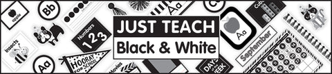 Just Teach Black and White Collection