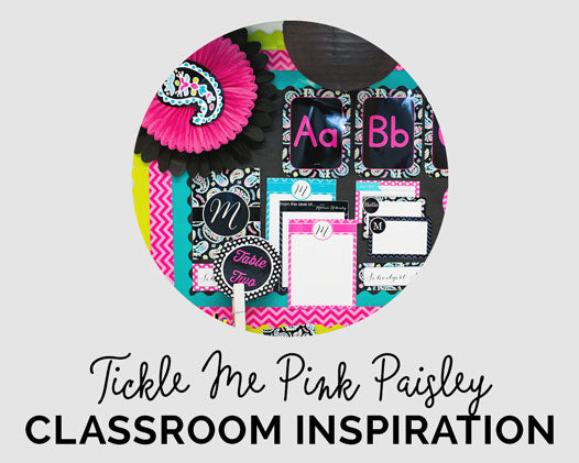 Tickle Me Pink Paisley