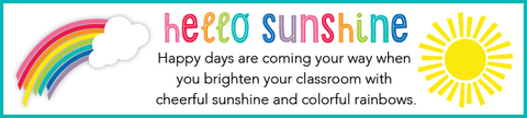 Hello Sunshine - Rainbow