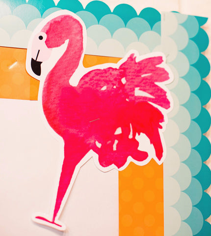 Flamingo Watercolor - Cut Outs
