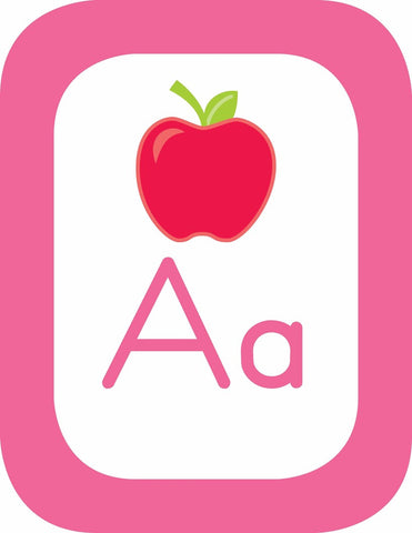 Just Teach - Alphabet Cards with Images!