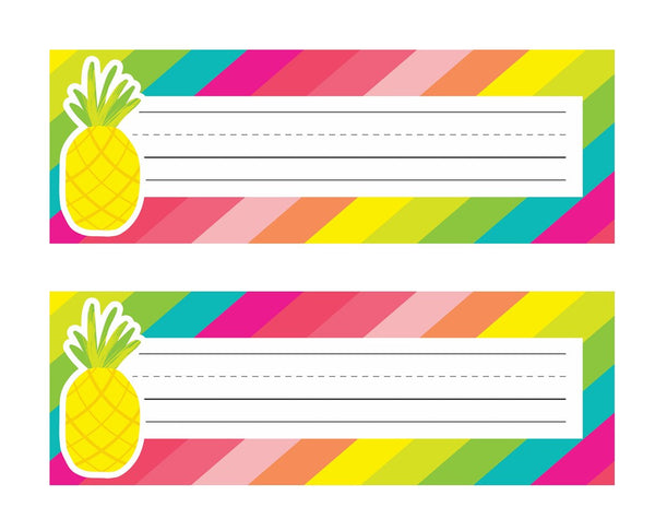Pina Colada Pineapple - Nameplates!