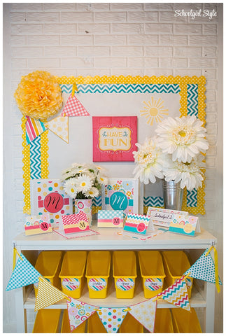 Hello! Sunshine Stationary Set {UPRINT}