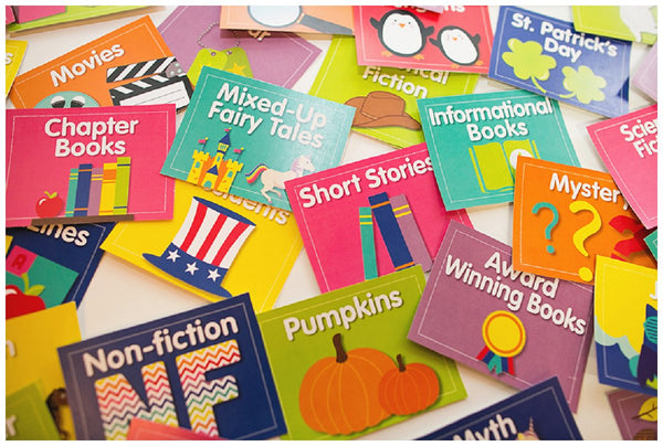 Just Teach - Classroom Library Labels