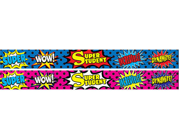 ***Superhero - Slap Bracelet