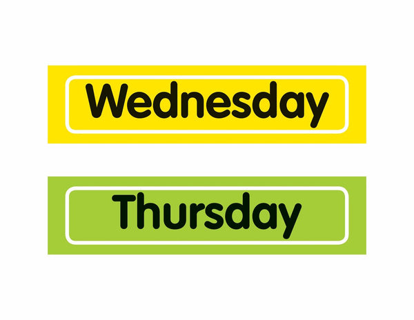 Just Teach - Days of the Week Resources {U PRINT}