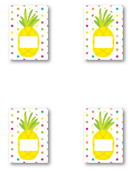 Pina Colada Pineapple - Pineapple Name Cards