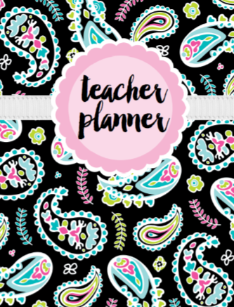 Tickle Me Pink Paisley - {DIGITAL PLANNER and ORGANIZER}