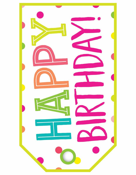 Just Teach - Birthday Bulletin Board Set - Home Printer Version