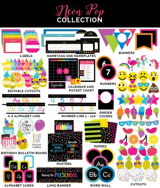 Neon Pop Full Collection