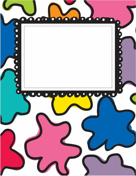 Color My Classroom - Binder Covers