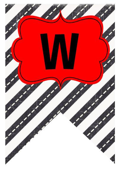 image relating to Welcome Banner Printable called Street Vacation Welcome Banner - Road Belief