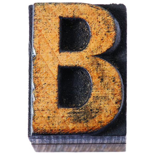 Industrial Chic Bulletin Board Letters 4 Inch