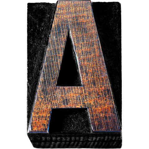 Industrial Chic Bulletin Board Letters 7 Inch