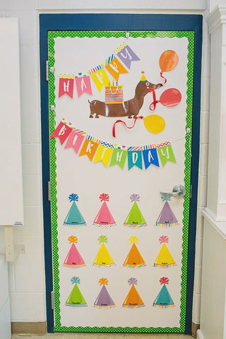 Confetti Crush Birthday Bulletin Board Set {U PRINT}