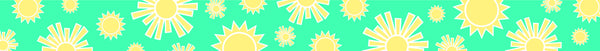Hello! Sunshine Printable Border