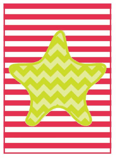 By The Sea - Starfish Print