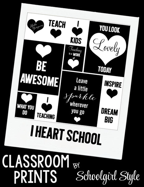 Classroom Prints {UPRINT}