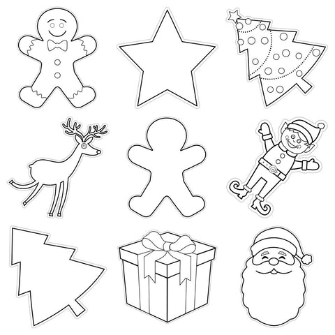 Color My Classroom Christmas {UPRINT}