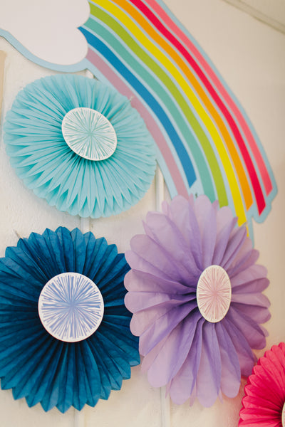 Just Teach Rainbow Pom Pom and Tassel Cut-Outs