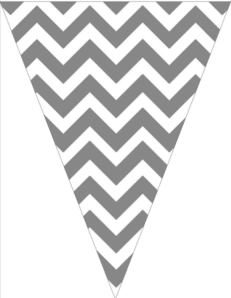Chevron Chic - Gray