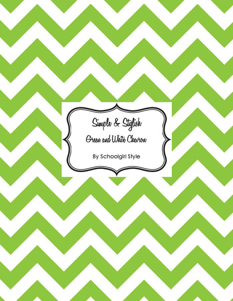 Chevron Chic - Green