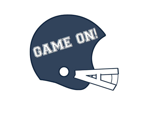 Totally Teamwork Football Helmet Cut Outs
