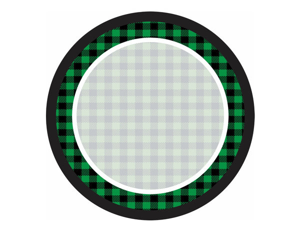 Happy Camper - Round Signs (Editable)