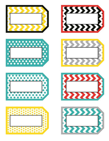 Hooray for Hollywood - Locker Luggage Tags
