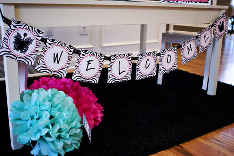 Rock Star Welcome Banner