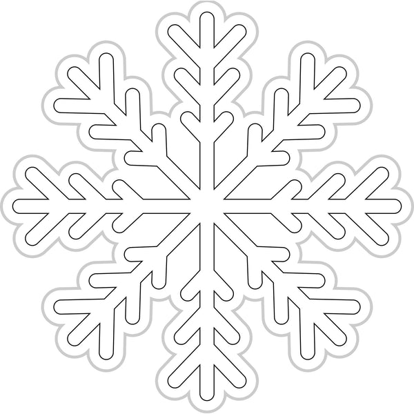 Color My Classroom Snowflakes
